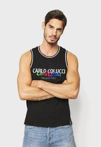 Carlo Colucci - PRIDE TANK - Top - schwarz - 0