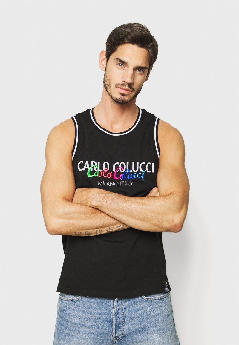 Carlo Colucci - PRIDE TANK - Top - schwarz