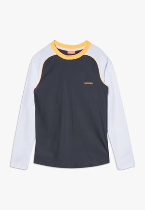 BOYS LONG SLEEVE RASH VEST - Rash vest - charcoal grey