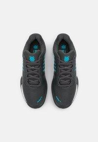K-SWISS - HYPERCOURT EXPRESS 2 HB - Clay court tennis shoes - dark shadow/scuba blue/white - 3