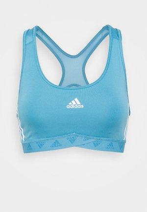 BRA - Sport-bh met medium support - hazy blue/white