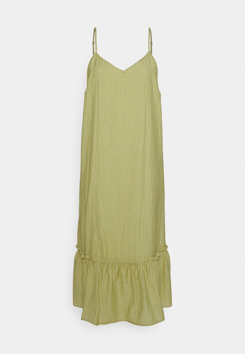 Cream - SAFFIRA DRESS - Day dress - tarragon