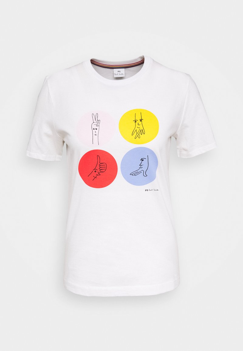 PS Paul Smith - T-shirt con stampa - white