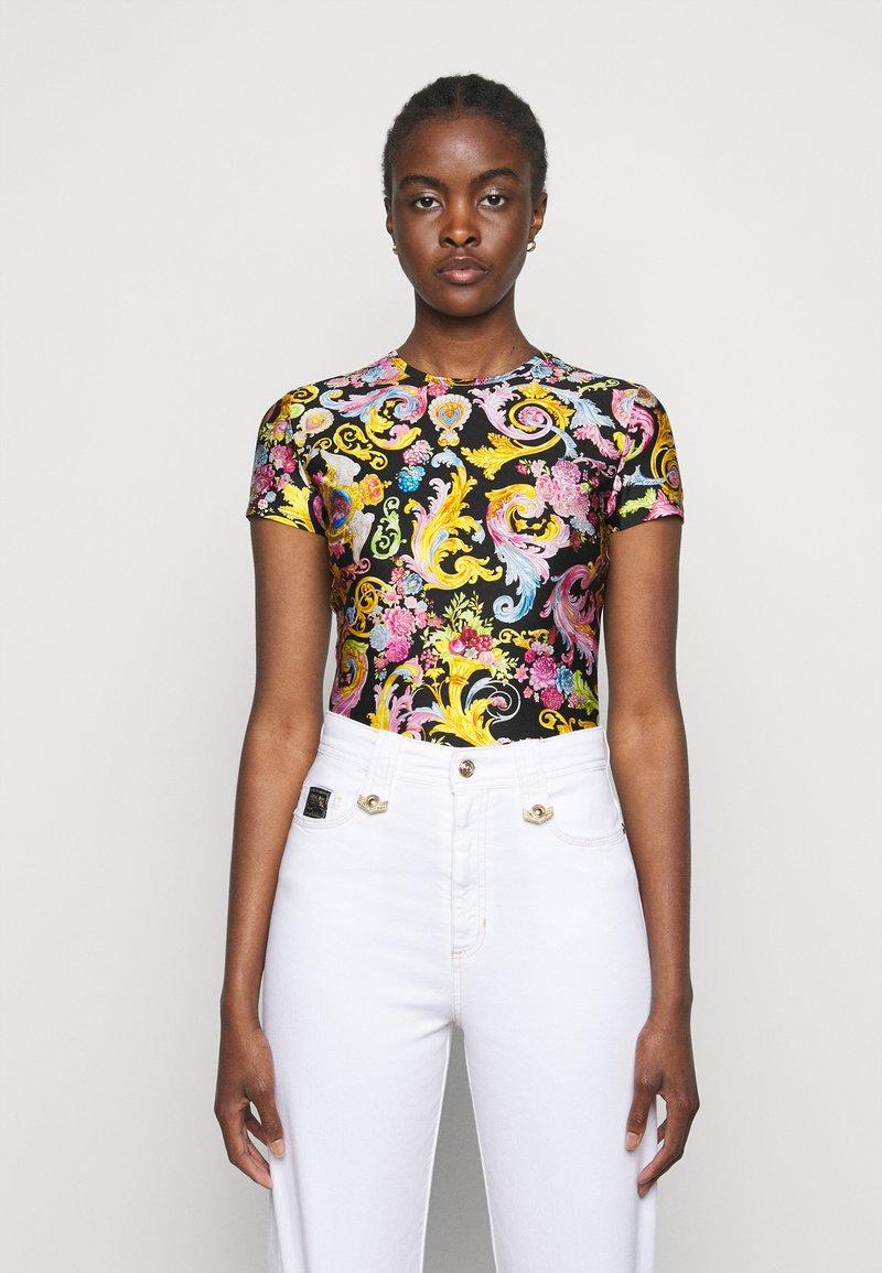 Versace Jeans Couture - LADY - Print T-shirt - black