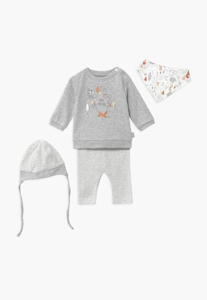SET - Bonnet - grey