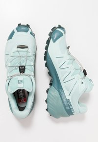 Salomon - SPEEDCROSS 5 - Trail running shoes - icy morn/hydro/green gables - 1