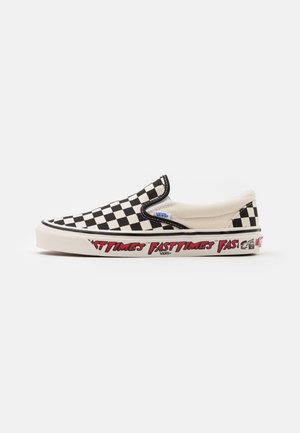 ANAHEIM CLASSIC  9 UNISEX - Loafers - offwhite/black/red