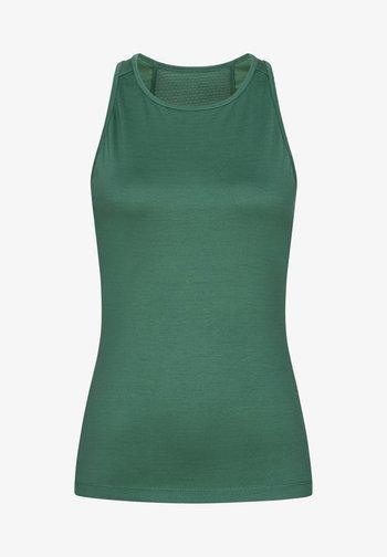 MERINO TANKTOP W JONSER TANK - Sports shirt - blau - grün