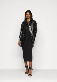 Fashion Union Petite - MEEKER SKIRT - Pencil skirt - black - 1