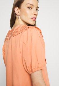 YAS - YASSOFFE DRESS  - Shirt dress - sandstone - 3