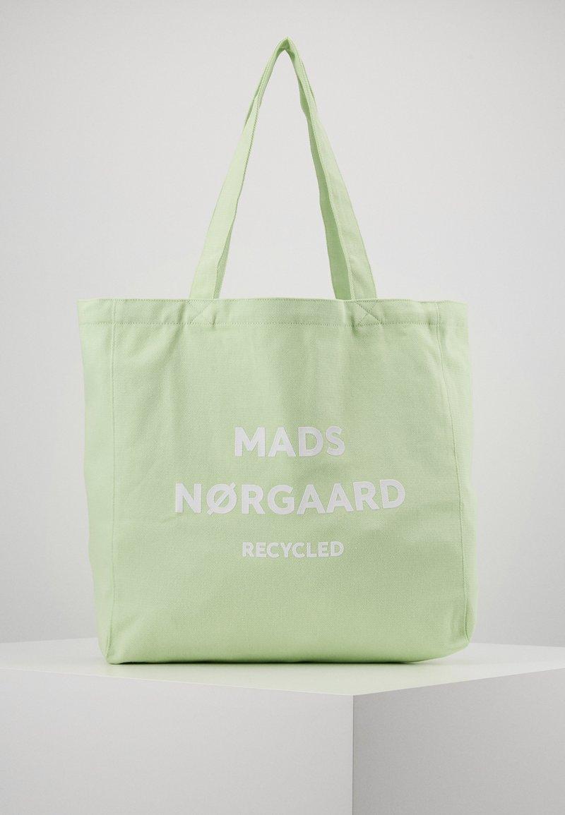 Mads Nørgaard - BOUTIQUE ATHENE - Torba na zakupy - pastel green/white