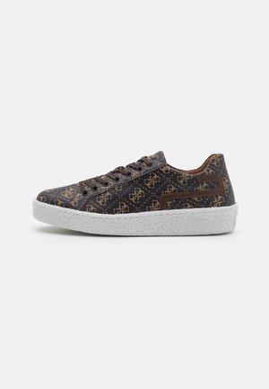 ZURIGO - Sneakers basse - brown/ocra