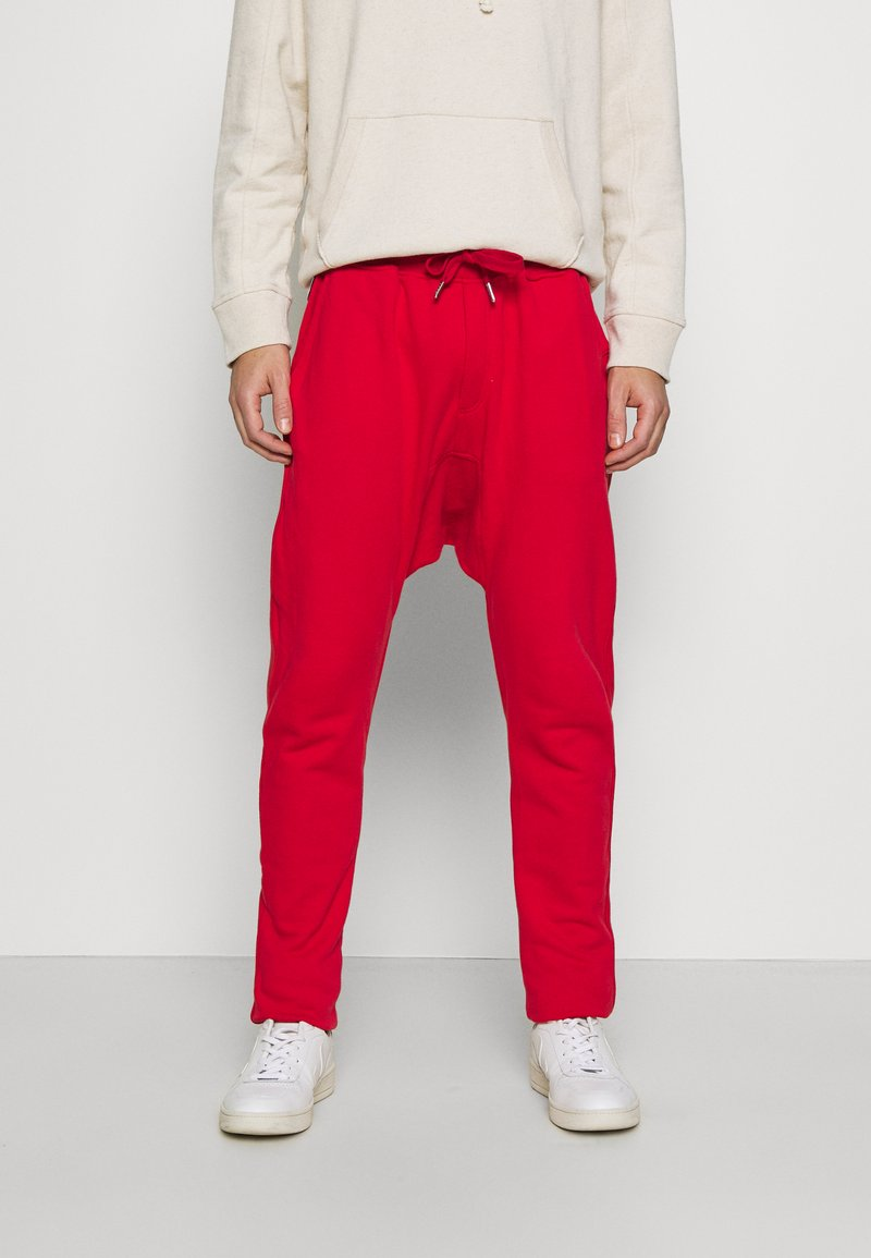 Schott - PAUL - Tracksuit bottoms - red