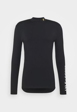 TECH BASELAYER - T-shirt à manches longues - true black
