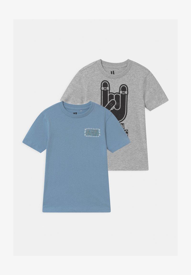 Cotton On - MAX SKATER SHORT SLEEVE 2 PACK - Print T-shirt - multi-coloured