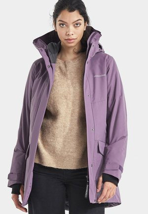 Outdoor jacket - eggplant
