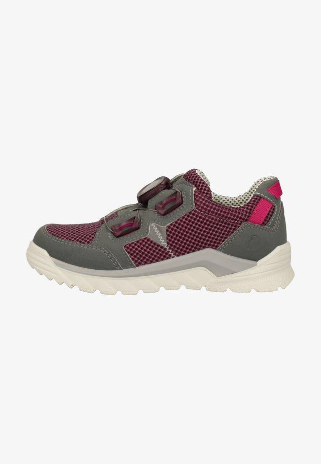 Sneakers laag - rosada/graphit 343