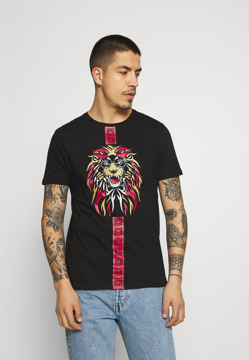 Brave Soul - PROWL - Print T-shirt - black