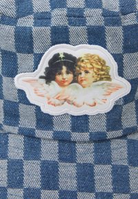 Fiorucci - CHECK BUCKET HAT UNISEX - Hat - pale blue - 4