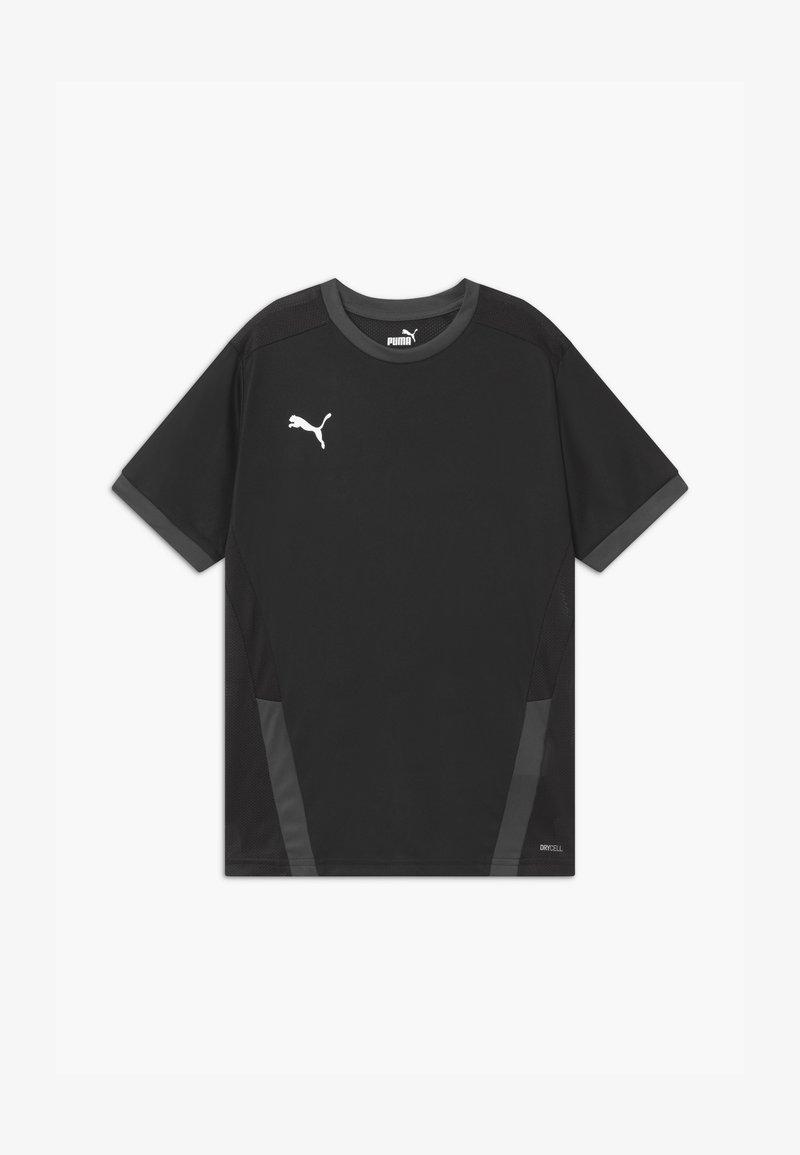 Puma - T-shirt print - puma black/asphalt