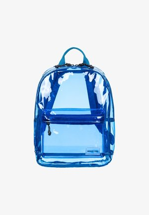 Rugzak - transparent blue