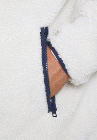 Tommy Jeans Plus - PLUS SHERPA ZIP THRU HOODIE - Fleece jacket - ecru - 6