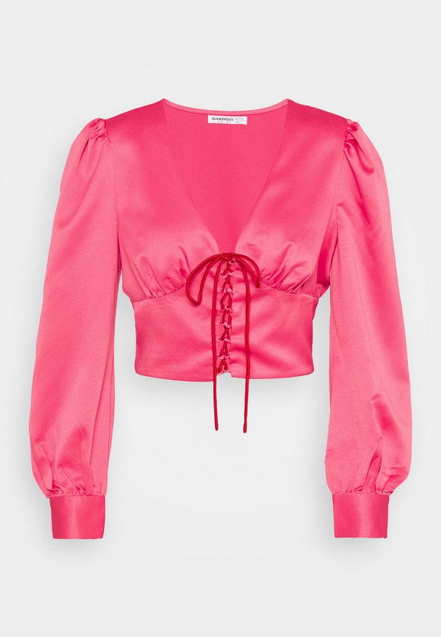 LADIES TOP - Blouse - candy pink