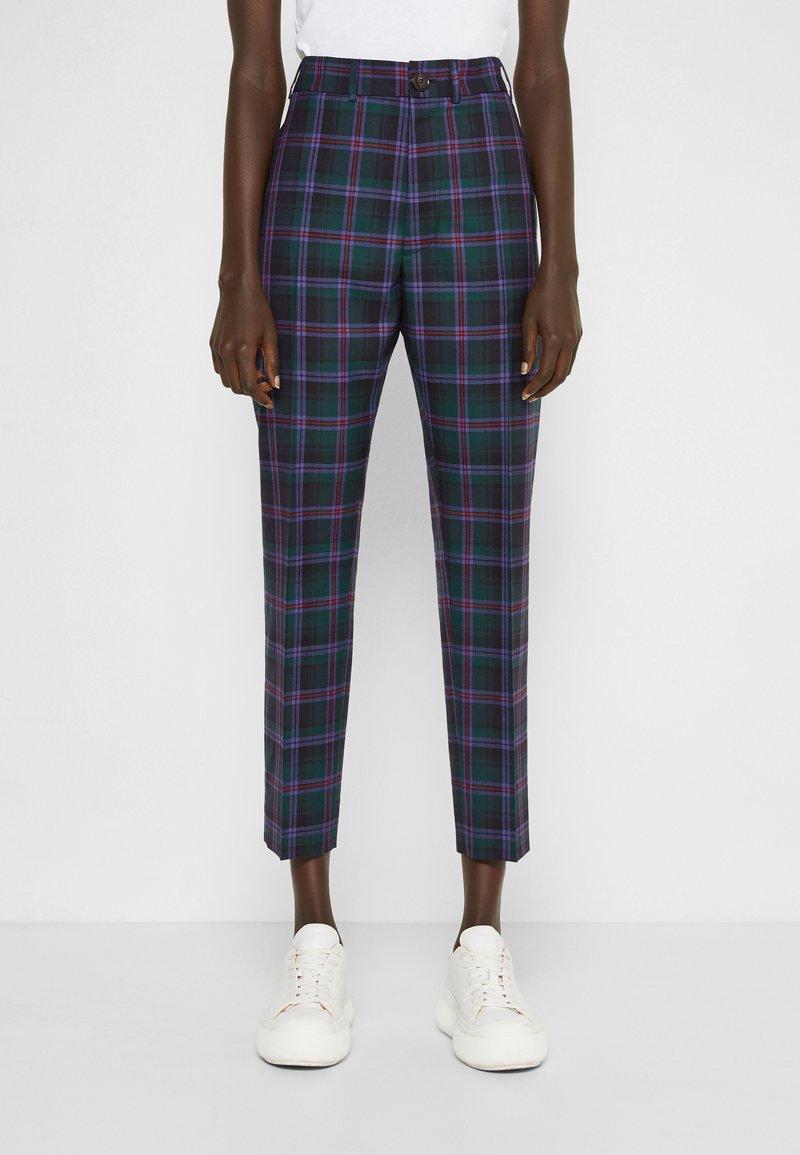 Vivienne Westwood - GEORGE  - Trousers - purple/green