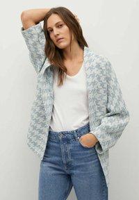 Mango - KIM - Summer jacket - himmelblau - 5