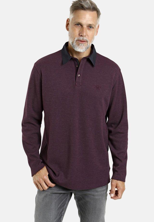 OLAN - Polo shirt - dunkelrot