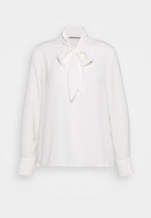 Pussy bow blouse - Blůza - off-white