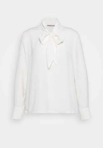 Pussy bow blouse - Blouse - off-white