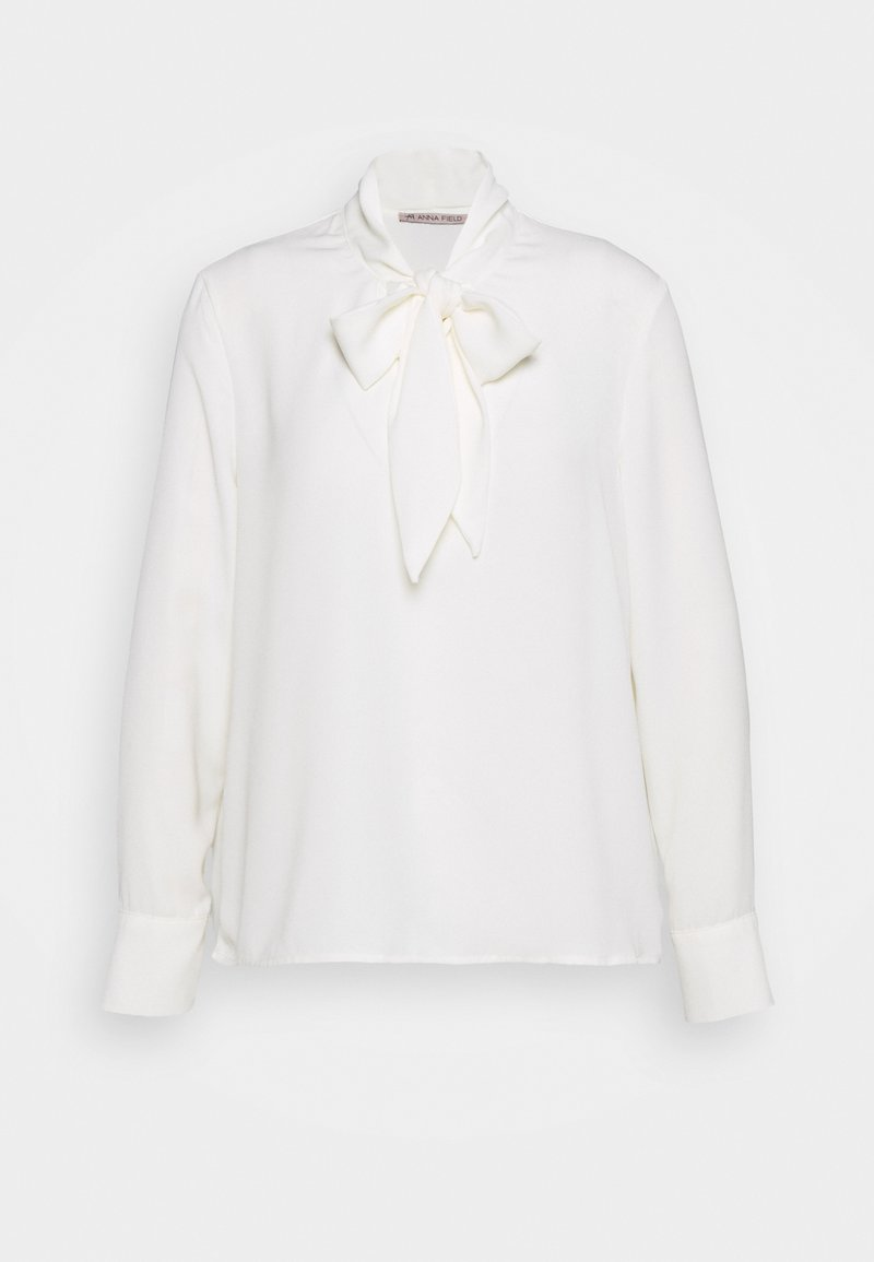 Anna Field - Pussy bow blouse - Bluser - off-white