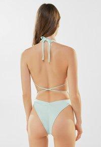 Bershka - Swimsuit - green - 2
