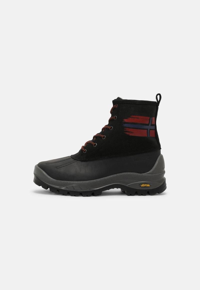 Napapijri - PEAK - Lace-up ankle boots - black