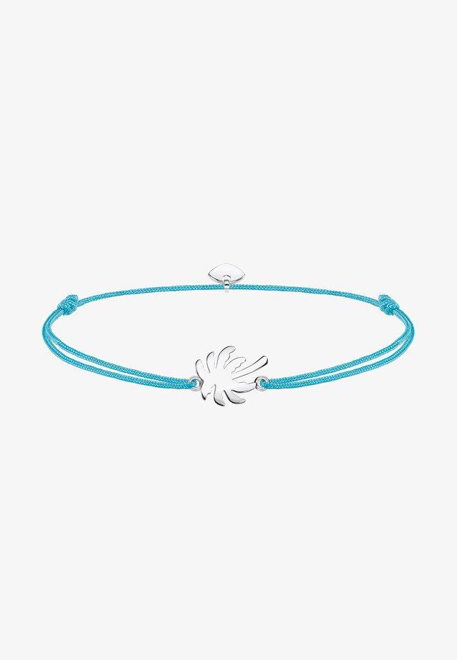 Bracelet - türkis, silberfarben