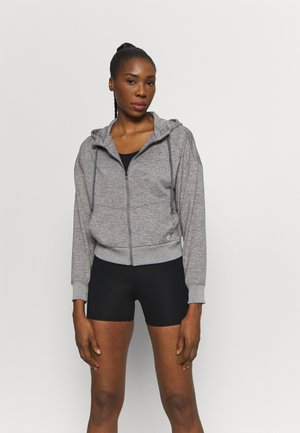JACKET - Treningsjakke - medium grey heather