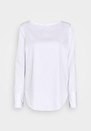 BLUME  - Long sleeved top - weiß