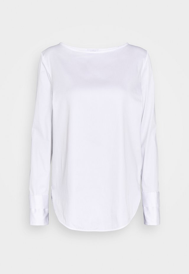BLUME  - Long sleeved top - weiß