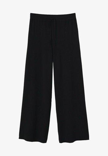 KOBI - Kalhoty - noir
