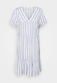 Freequent - STRIPE - Day dress - chambray blue - 0