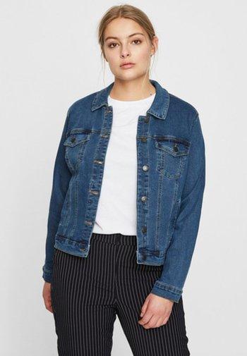 VMHOT SOYA JACKET - Denim jacket - blue denim