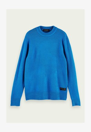 Jumper - electric blue melange