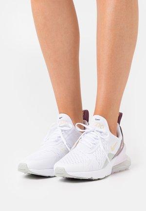 AIR MAX 270 - Zapatillas - white/lemon drop/regal pink