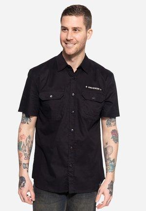 KINGS - Overhemd - schwarz