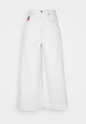 MR WIDE LEG ANKLE - Relaxed fit jeans - work white