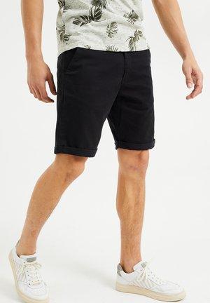 SLIM-FIT - Shorts - black