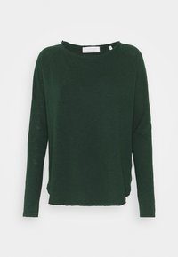 Rich & Royal - Long sleeved top - emerald green - 0