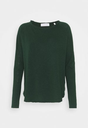 Topper langermet - emerald green