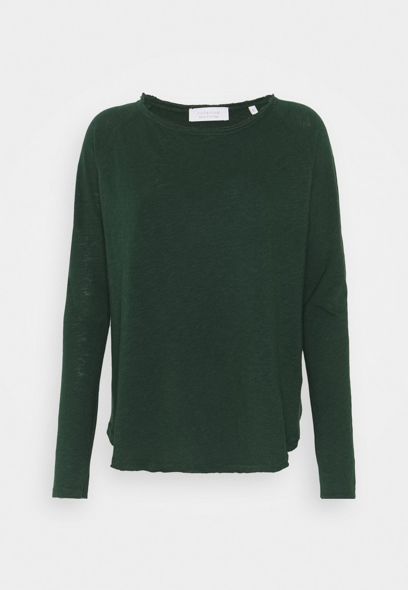 Rich & Royal - Long sleeved top - emerald green